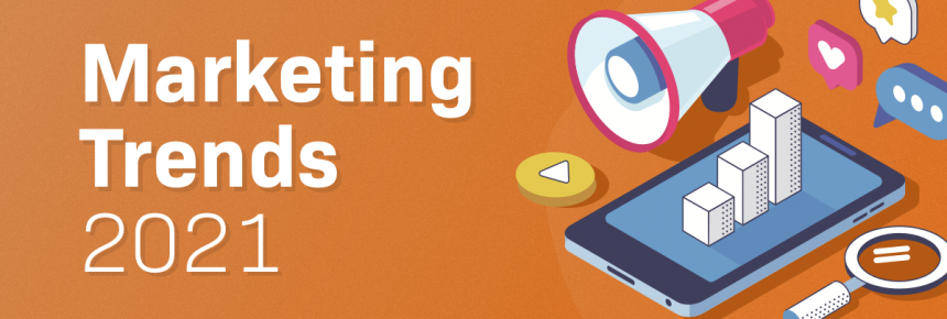 marketing trends 2021 article cover image