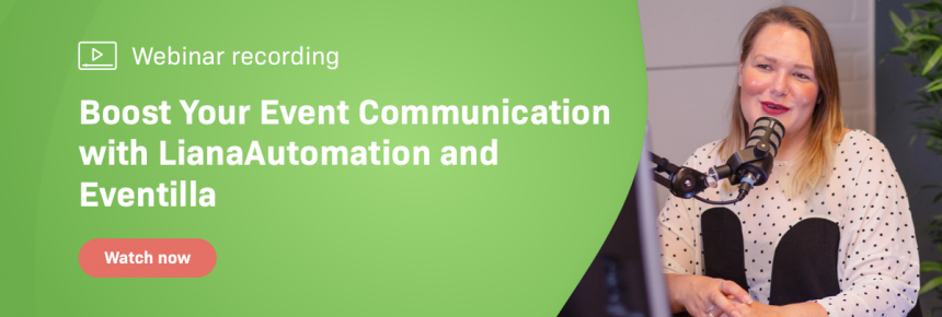 Webinar recording: Boost your event communication