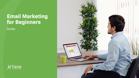 Email Marketing for Beginners Guide man sitting at computer