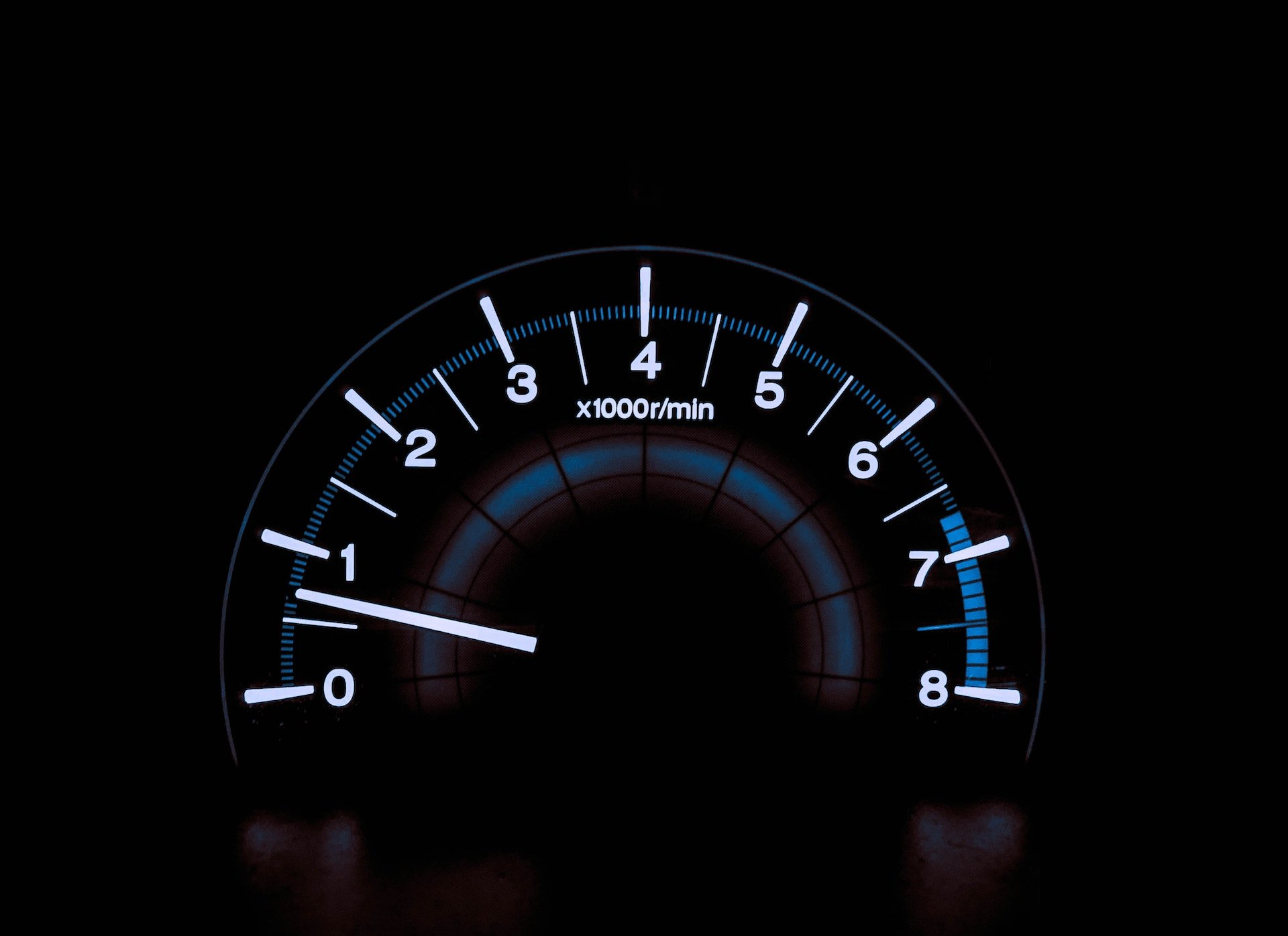 Car speedometer background