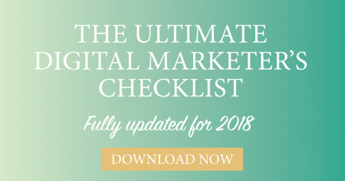 Digital Marketing Checklist 2018 PDF download