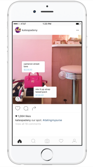 You can now buy products in Instagram without the need to go to a website