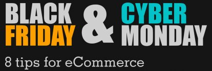 Black Friday and Cyber Monday tips for eCommerce [Infographic]