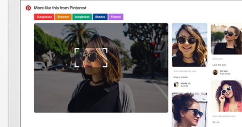 Image recognition introduced by Pinterest