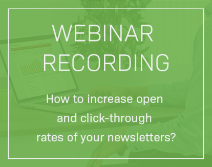 Webinar Recording: How to Improve Open and Click-Through Rates?